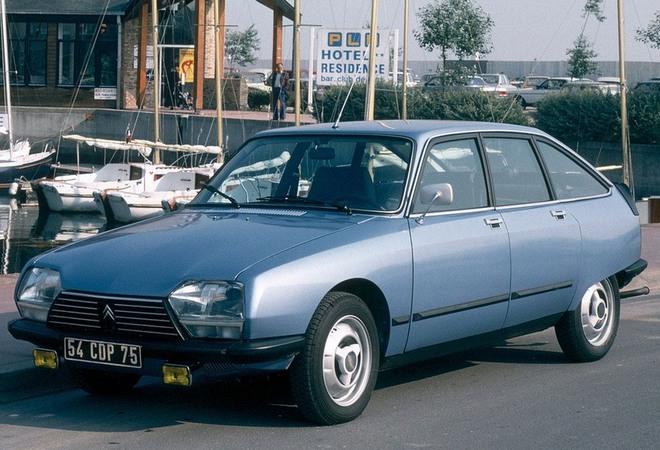 Motor boxer: Citroën GS (1979) | Citroën