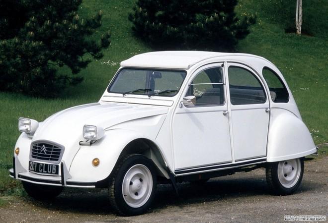 Motor boxer: Citroën 2CV