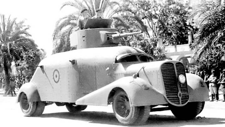 Hispano-Suiza Blindado de la Policía Republicana