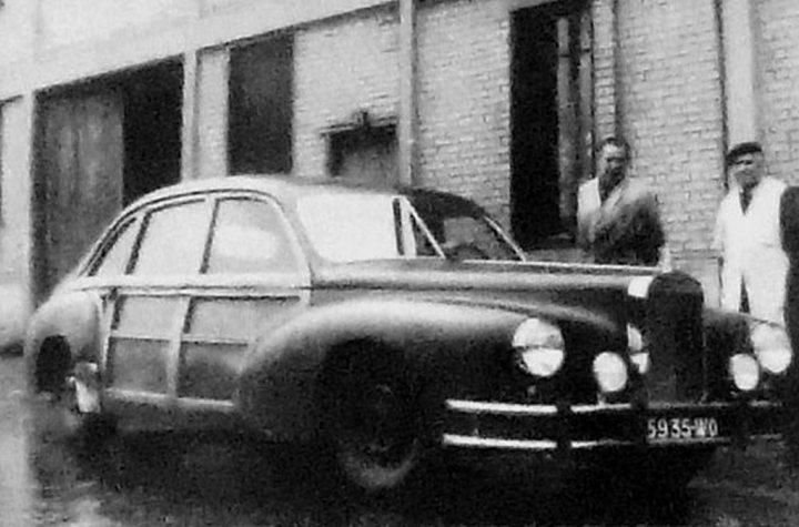 Un último espejismo: prototipo de Hispano-Suiza Traction Avant (1949)
