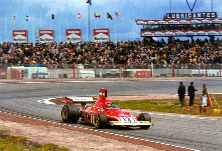 Niki Lauda en el Jarama en 1974