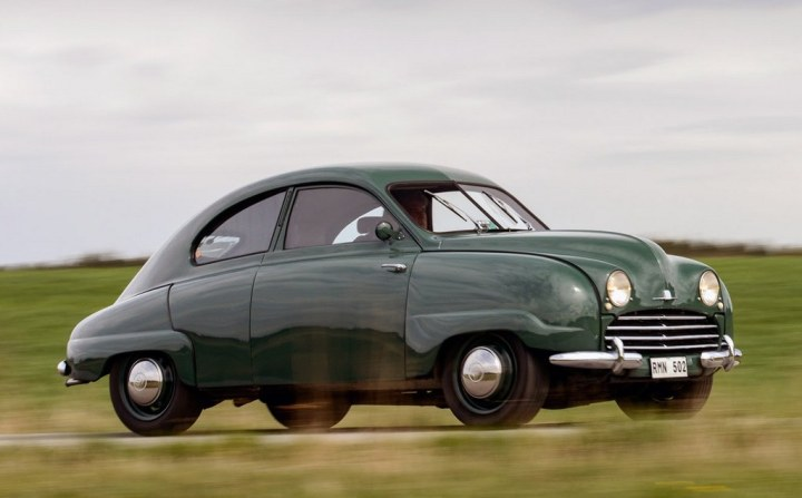 El Saab 92 definitivo de 1949   Saab