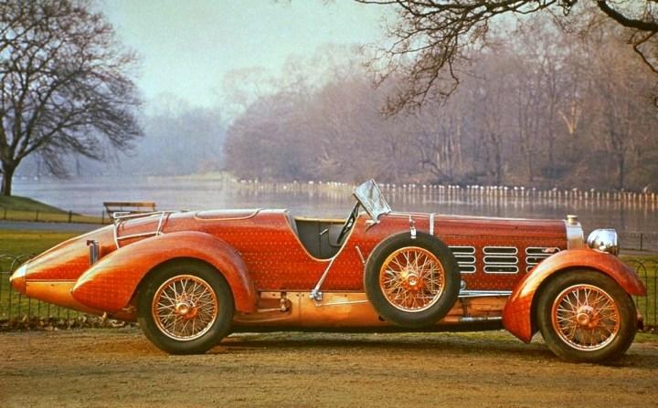 """Hispano-Suiza: El """"Tulip Wood"""" - obsérvese el detalle de los remaches"""