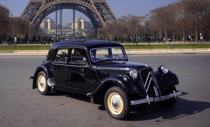 Coches clásicos franceses: Citroën Traction Avant