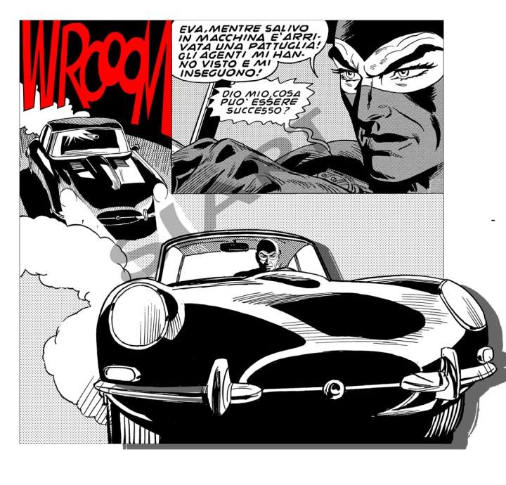 Coches y Comics: Diabolik | Enzo Facciolo