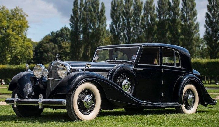 Mercedes-Benz 540K Sedan W29 | sportscardigest.com