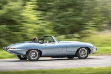 Jaguar E-Type Eléctrico Tech Fest