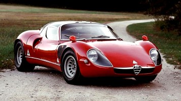 Coches clásicos italianos: Alfa Romeo 33 Stradale