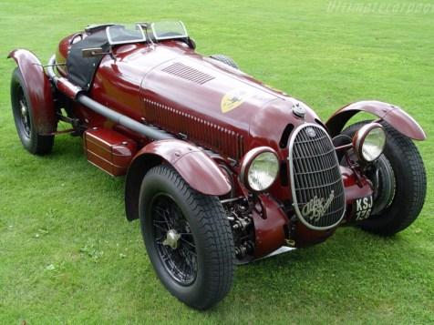 Alfa Romeo 8C 2900A Botticella Spider 1936