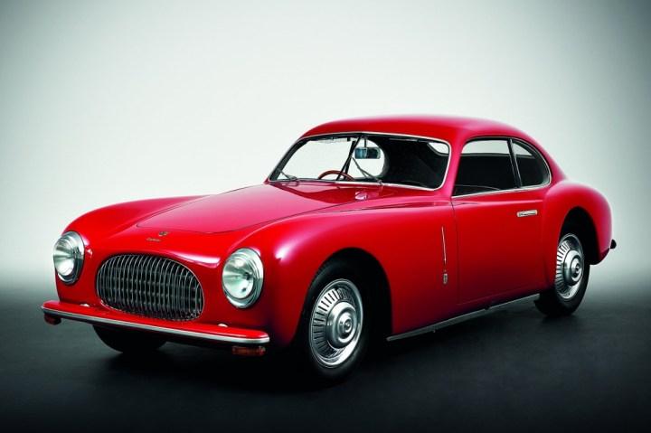 Coches clásicos italianos: Cisitalia 202   Pininfarina