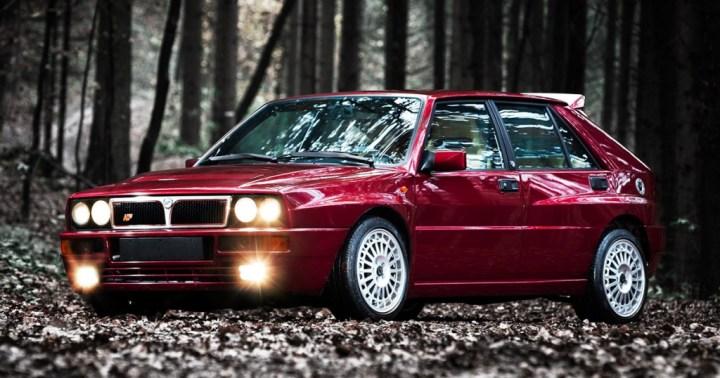 Coches clásicos italianos: Lancia Delta Integrale   delta-integrale.com