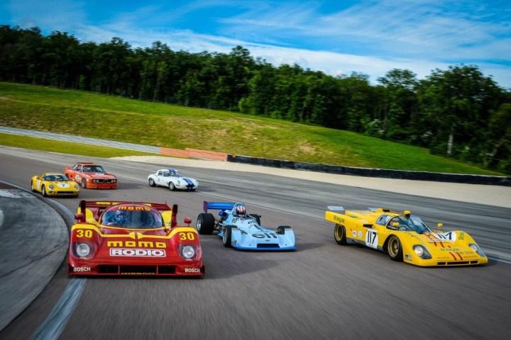 Calendario de coches clásicos 2018 | Espíritu de Montjuich