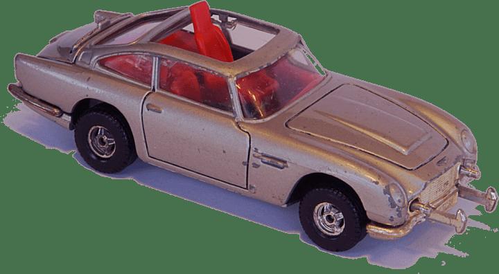 Coches a Escala: Aston Martin DB5 de Corgi