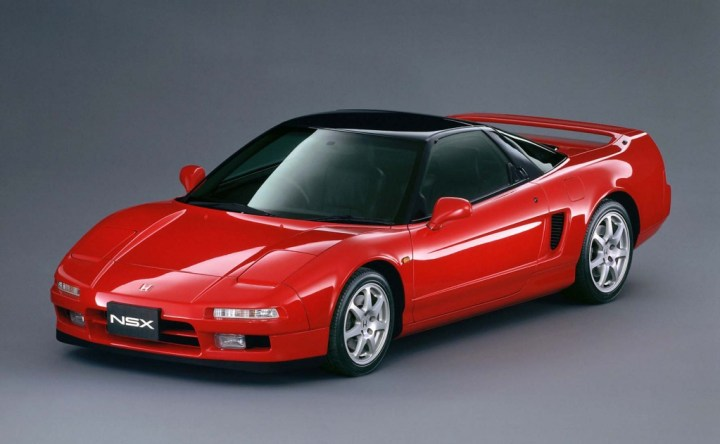 Coches clásicos japoneses: Honda NSX