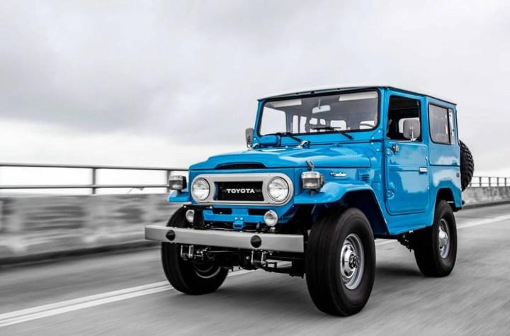 Coches clásicos japoneses: Toyota Land Cruiser J40