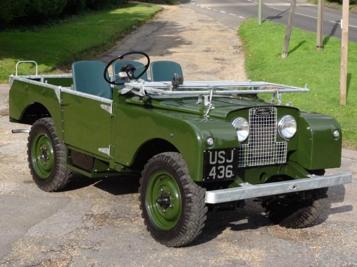 Coches clásicos ingleses: Land Rover | Coys
