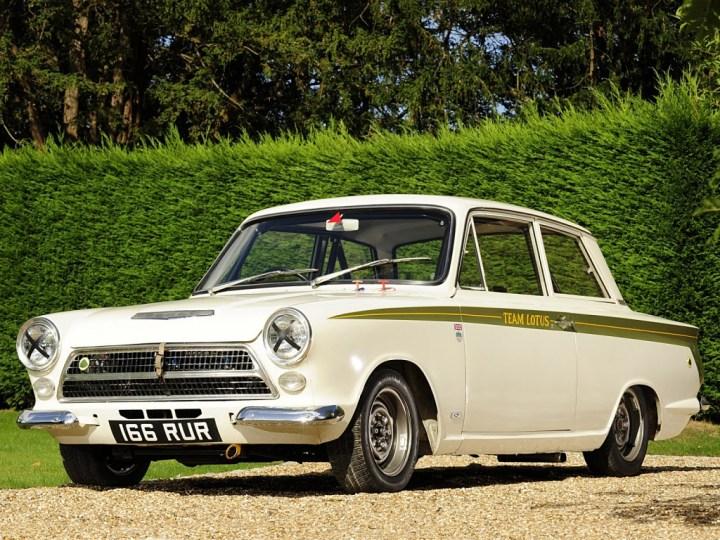Coches clásicos ingleses: Lotus Cortina
