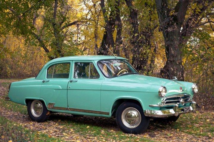 Coches clásicos no alineados: GAZ M21 Volga