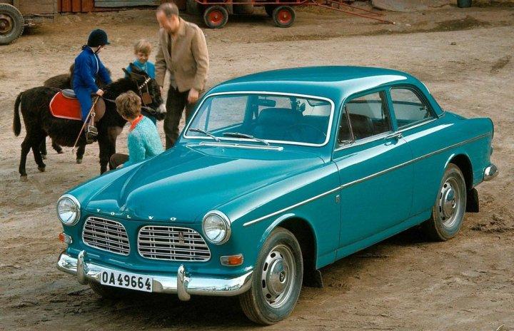 Coches clásicos no alineados: Volvo Amazon