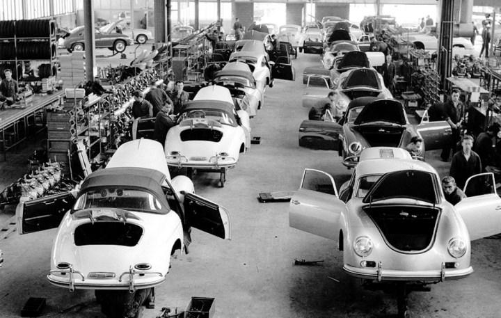 Fábrica de Porsche en Zuffenhausen: los 356 | Foto: Porsche AG