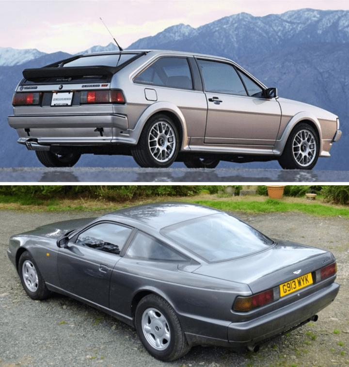 Volkswagen Scirocco & Aston Martin Virage | VW, Aston Martin