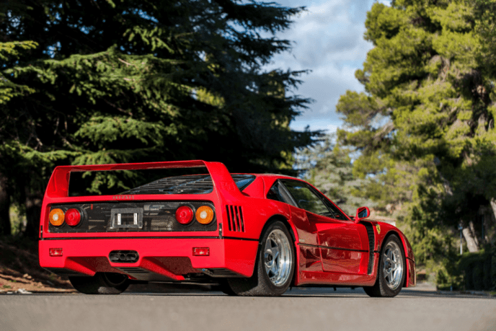 100 iconos indispensables: Ferrari F40