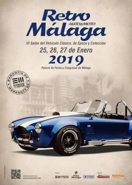 Calendario Retro Málaga 2019