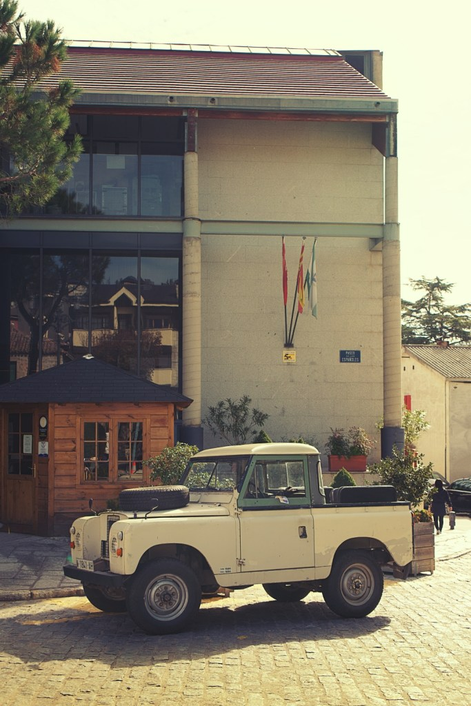 Land Rover en Navacerrada (Madrid)