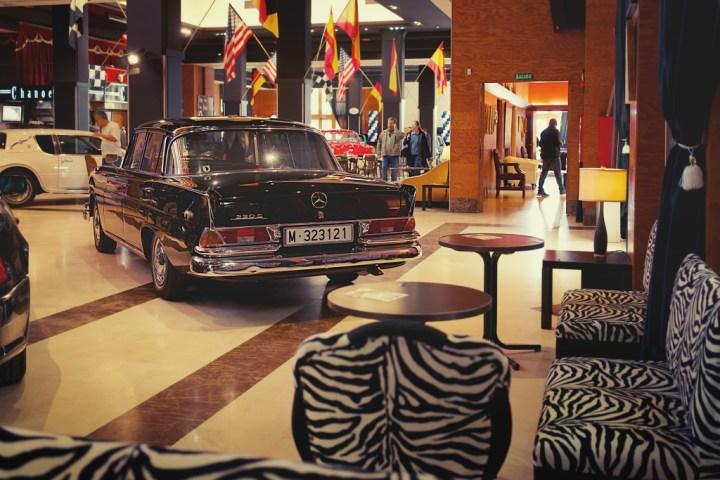 "Mercedes-Benz ""Colas"" en Sala Chanoe de Madrid"