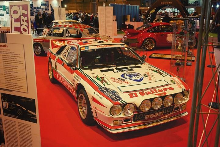 Lancia 037 en Retromóvil de Madrid