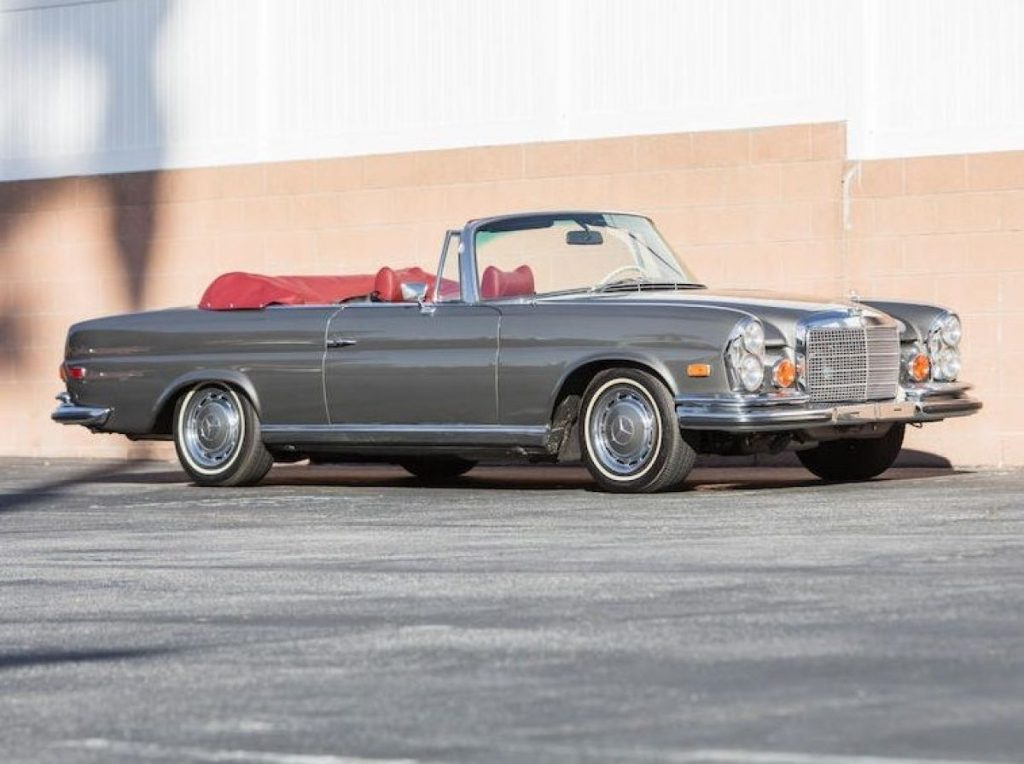 Crónicas Arizona 2019 Bonhams 1970 Mercedes-Benz 280SE 3.5 Cabriolet 362.500 $