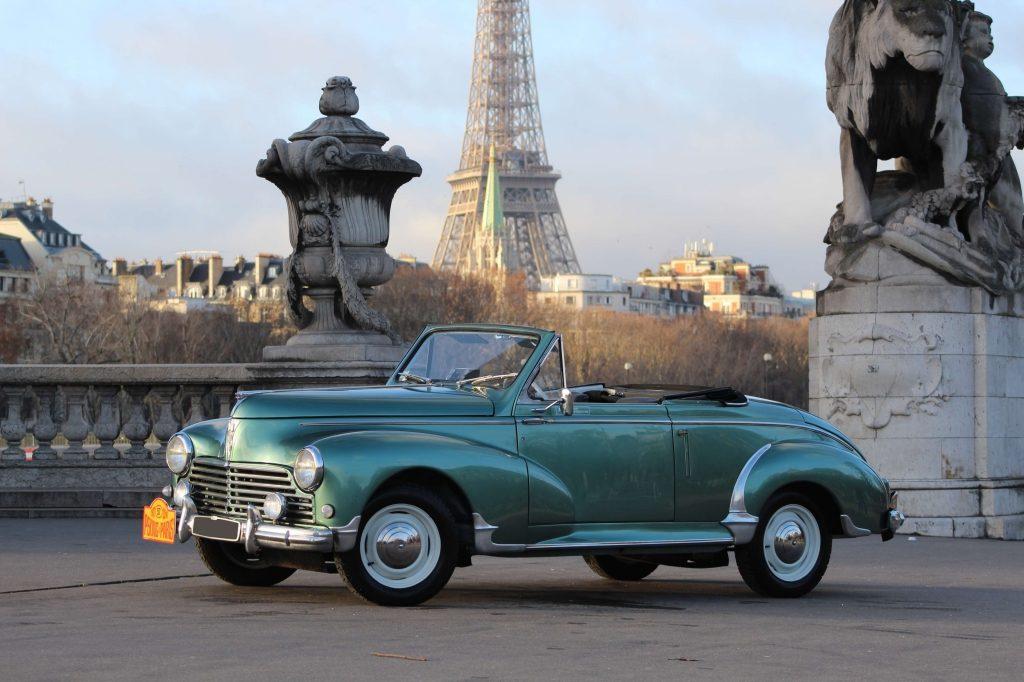 Artcurial 1955 Peugeot 203C cabriolet - Préparation Pékin-Paris 65.560 €