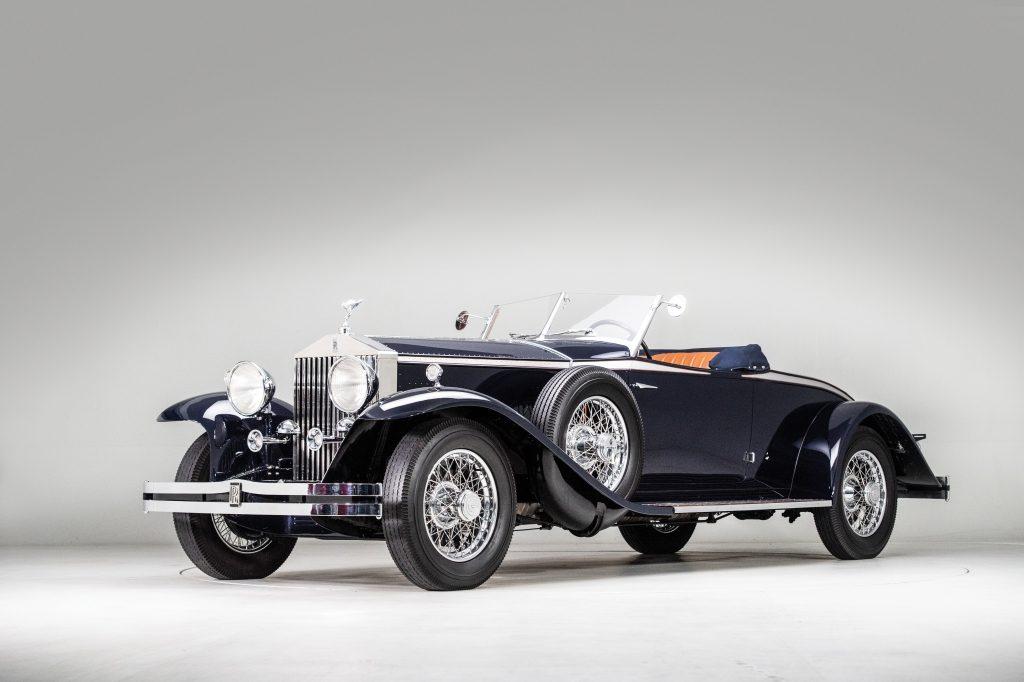 RM Sotheby's 1931 Rolls-Royce Phantom II Henley Roadster by Brewster $566,000