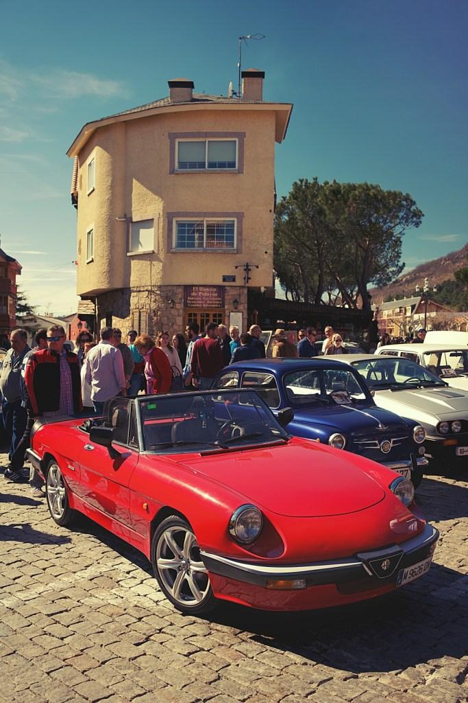 Alfa Romeo Spider en Navacerrada (Madrid)