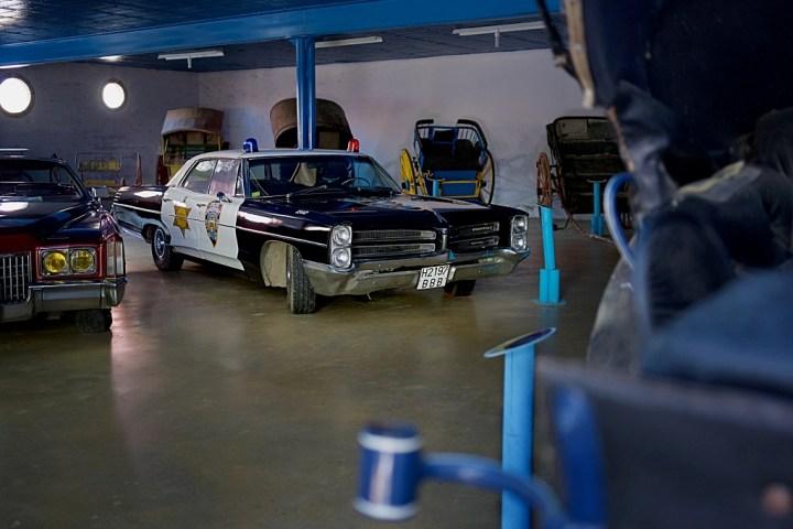 Hervás: Pontiac police car