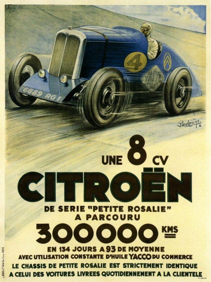 Citroën 8CV anuncio | Crédito imagen: Grupo PSA