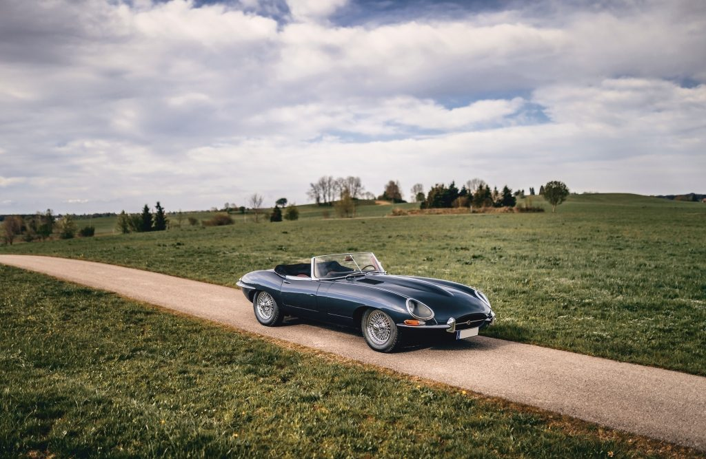 Jaguar E-Type Series 1 3.8-Litre Roadster (1962) sin vender