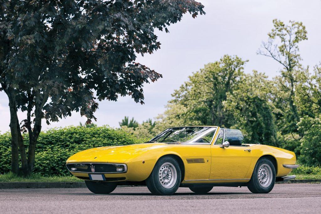 Maserati Ghibli 4.7 Spyder by Ghia (1970) sin vender