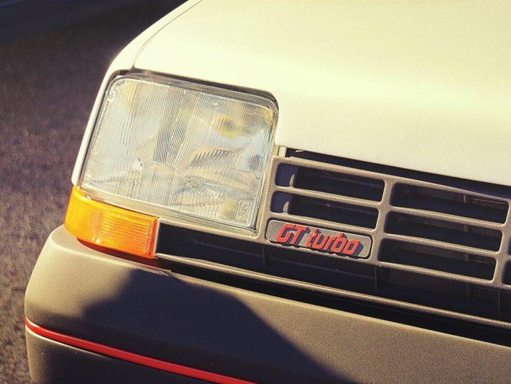 Typography Renault 5 Copa GT Turbo