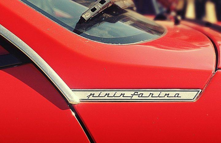 Tipografía Lancia Beta Montecarlo Pininfarina