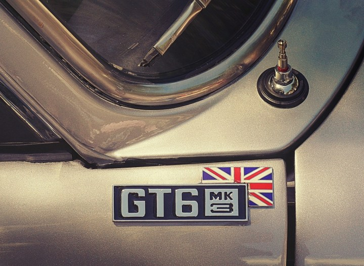 Typography Triumph GT6