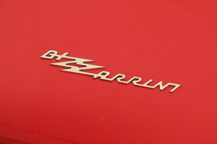 Tipografía Bizzarrini GT Strada