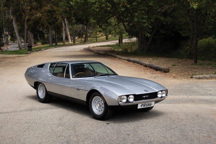 RM Sotheby's 1967 Jaguar Pirana by Bertone $ 324,000