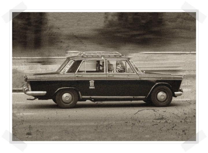 Las tres hermanas - Seat 1500 Taxi