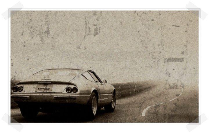 Las tres hermanas - Ferrari Daytona rear 3/4