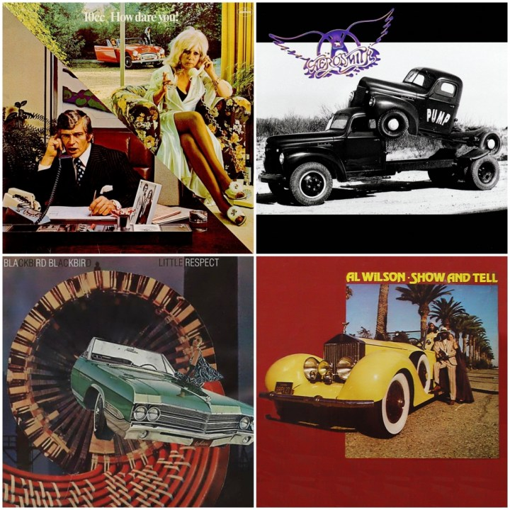 10cc – How Dare You! · Aerosmith - Pump · Al Wilson - Show and tell · Blackbird Blackbird - Little Respect Vol. 1