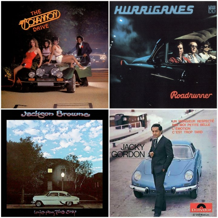 Hamilton Bohannon - The Bohannon drive · Hurriganes - Roadrunner · Jackson Browne - Late for the Sky · Jacky Gordon - Un Monsieur Respecté