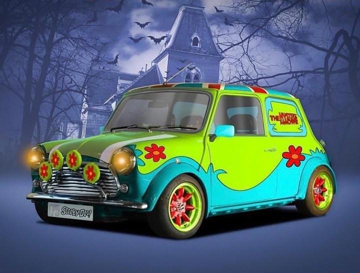 Mini Scooby Doo