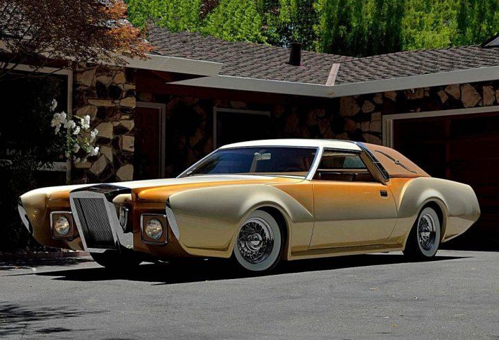 """Bugazzi"" Lincoln Continental Mark IV de 1973 George Barris"