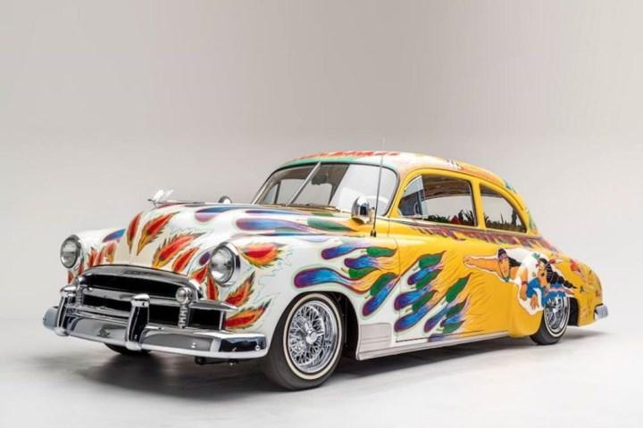 """El """"Family Car"""", un Chevrolet Sedan de 1950 diseñado por Gilbert """"Magu"""" Luján"""